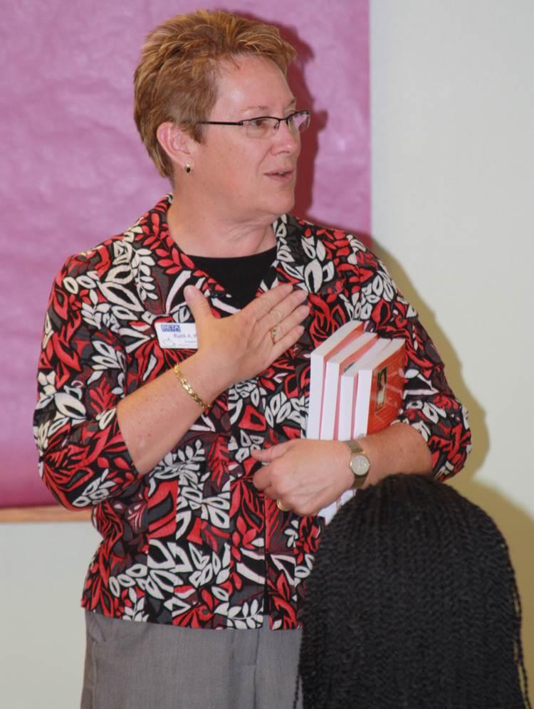President & CEO Ruth Patrick