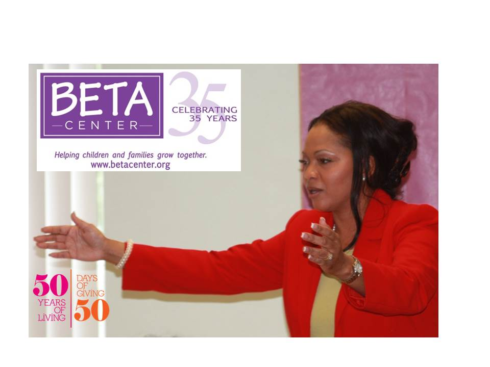 Dr. Bush kicks off her 50 Days of Giving for 50 Years of Living Campaign at the BETA Teen Center