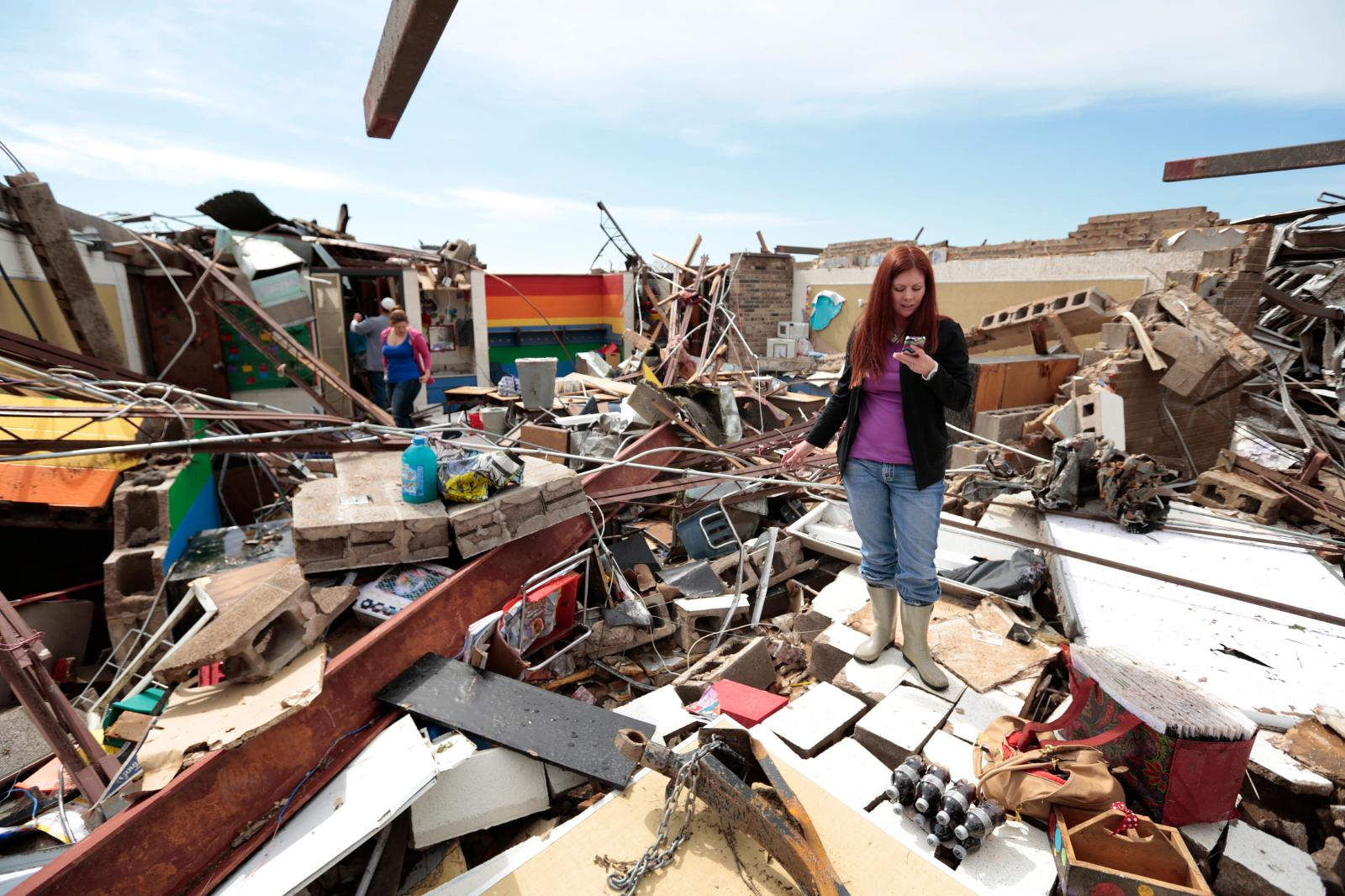 Mobile Devices Support Oklahoma Tornado Disaster Emergency Response